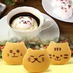 ネコのお菓子が大集合!かわいい猫スイーツ♪