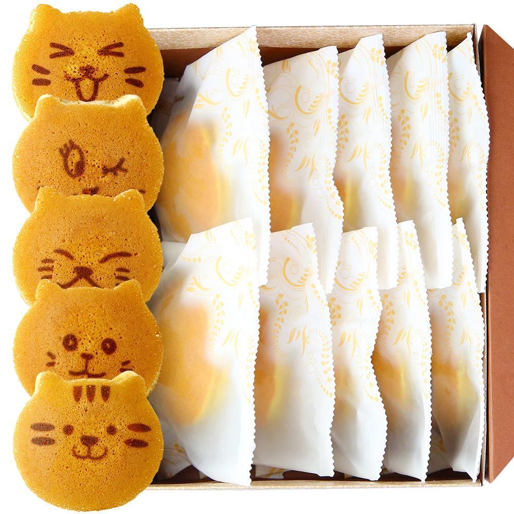 猫のどら焼き(10 個)