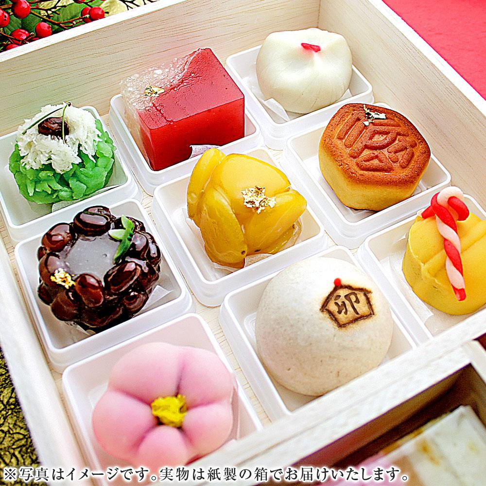 おせち和菓子(上生菓子)宝箱