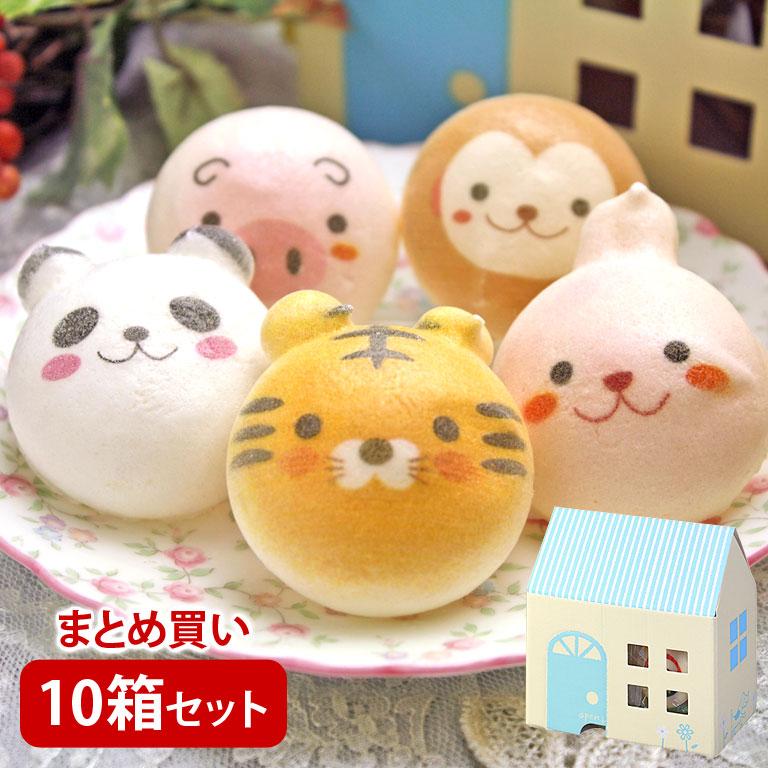 お絵かきマカロン動物っこ (5個入)10箱セット