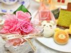 お花とスイーツ(お菓子)セット