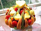 フルーツフラワーケーキ
